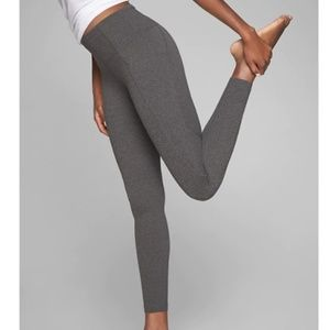 ATHLETA Stash Pocket Salutation TIght Gray Legging